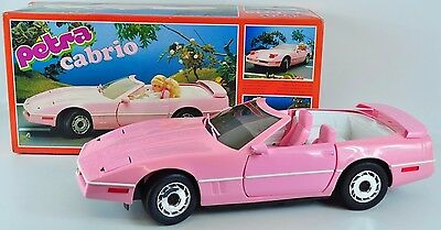 Petra Cabrio Puppen Auto in OVP 80er Jahre Doll Car Lunby FF-PC