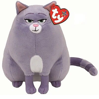 Ty Beanie Babies 96298 Secret Life of Pets Chloe the Cat Buddy