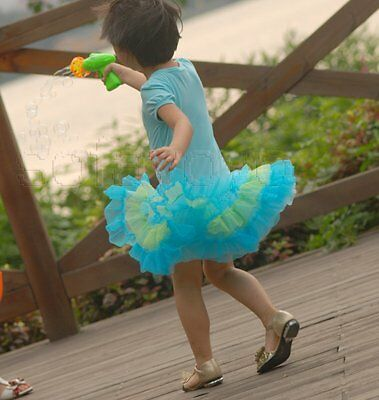 Girls Dress butterfly hot drilling ruffle layered cake tutu cotton kids clothing