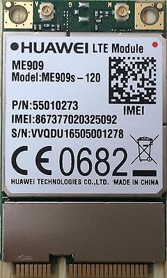 Huawei LTE/4G mini PCIe Card ME909s-120 DL 150Mbps Cat 4