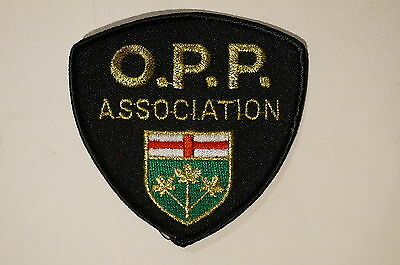 Canadian Ontario Provincical Police OPP Association Patch