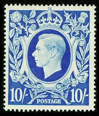 Sg478b, 10s ultramarine, M MINT. Cat £40.