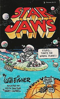 Star Jaws (A Galaxy of Space Cartoons) by Will Eisner