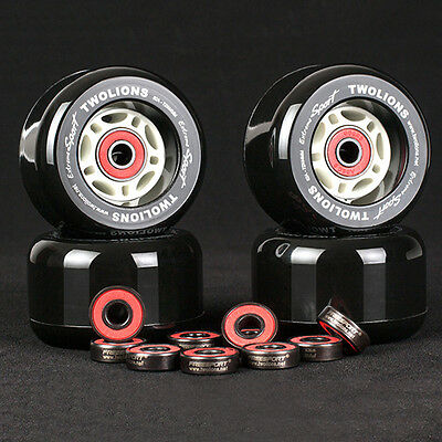 608RS Good Roller Skates Ceramic Ball Inline Skate Bearings Drift Plate ZA