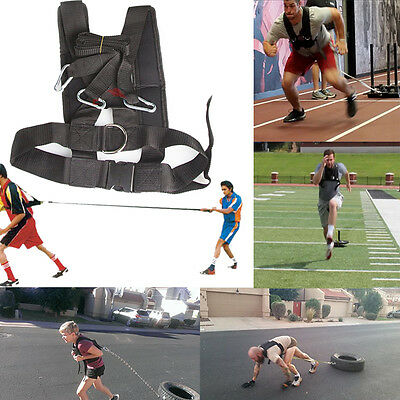 Heavy Duty Speed and Sled Training Shoulder Resistance Harness