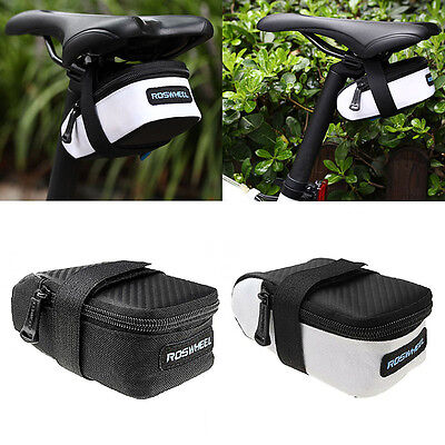 ROSWHEEL Outdoor Saddle Bag Cycling Seat Storage Bike Bicycle Tail Rear Pouch