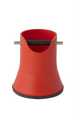Crema Pro Coffee Knock Box Bin - 175mm - Red