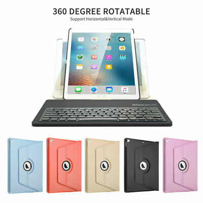 360°Rotating Leather folio Case Smart cover+Bluetooth keyboard For iPad Pro 12.9