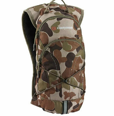 Caribee Quencher AUSCAM camo Hydration Pack 2L Bladder