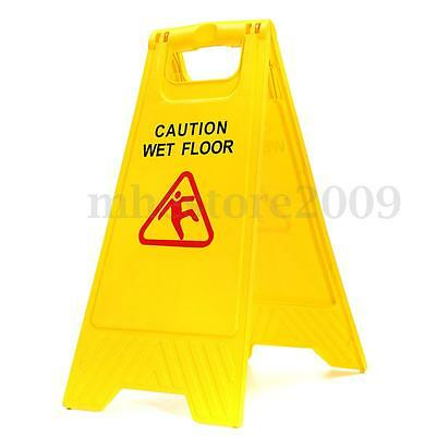 Caution Wet Floor Sign Folding Safety Sign Cleaning Slippery Warning Both Side
