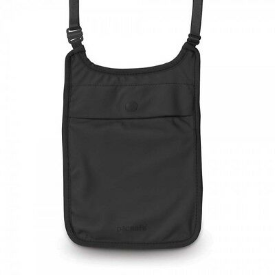 Pacsafe Coversafe S75 Anti-Theft Neck Pouch BLACK
