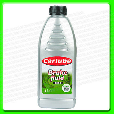 Carlube Synthetic Brake Parts & Clutch Fluid Dot 4 1 Litre [BFL100]