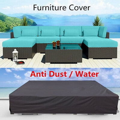 Outdoor Patio Garden Furniture Cover Waterproof Wicker Sofa Couch Protection