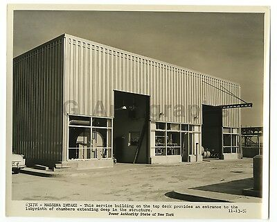 St. Lawrence River - New York Power Authority - Original Vintage Photo - 1957
