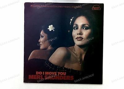 Merl Saunders - Do I Move You US LP 1979 Direct-To-Disc Supercut Soul Jazz //1
