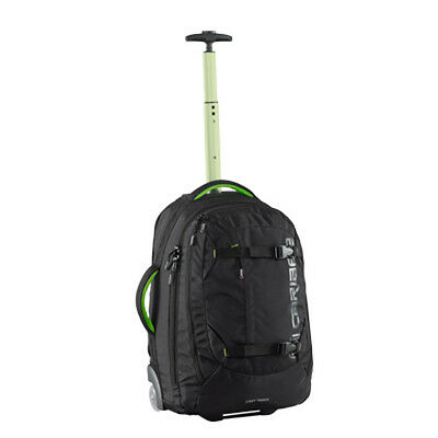Caribee Fast Track 45L Wheeled CARRY-ON Travel Backpack - BLACK