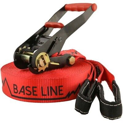 Slackline Industries Base Line 15m Slackline - Red