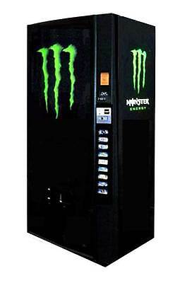 DIXIE NARCO 600E Can Soda Machine ~ Monster Graphics - Completely Refurbished