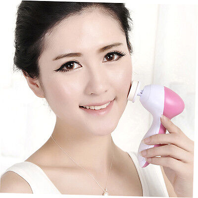 Electric Multifunction Face Spa Skin Care Massage Facial Cleansing Brush SN