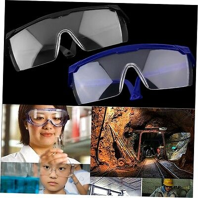 New Safety Eye Protection Glasses Goggles Lab Dust Paint Dental Industrial SN