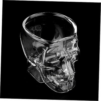 Mini Skull Head Shaped Shot Glass Cup Whisky Wine Bar & Party Cup SN
