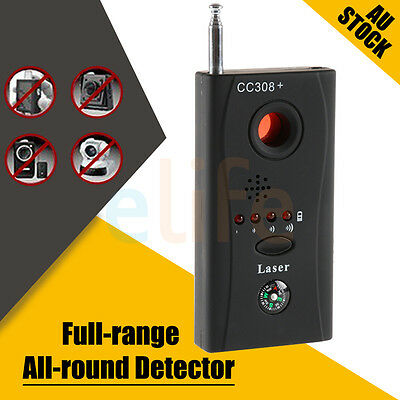 OZ Signal Bug Detector Hidden Camera Video GSM Wireless GPS Device Finder CC308+