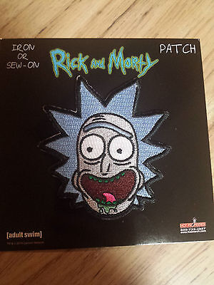 Rick And Morty Rick Patch Adult Swim Funny Cartoon
