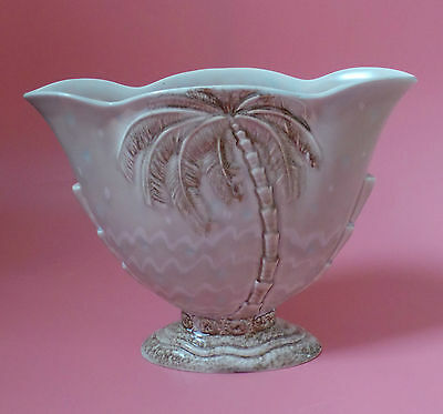 Beswick Palm Tree Design LARGE VASE 1065 Art Deco