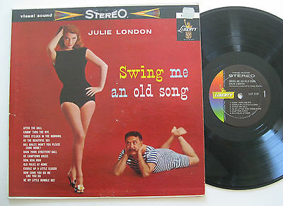 LP Julie London - Swing Me An Old Song - Liberty Stereo - Jimmy Rowles