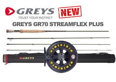 NEW 2016 GREYS GR70 *STREAMFLEX PLUS* River Fly Fishing Rods & FREE REEL & LINE!