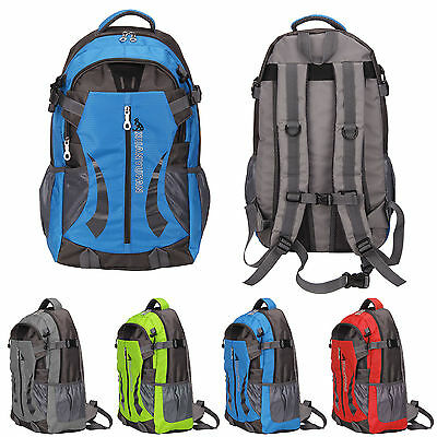 40L Waterproof Outdoor Sports Backpack Hiking Camping Rucksack Nylon Cycling UK
