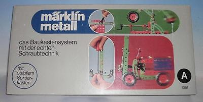 Märklin 1051 A Metallbaukasten Grundkasten in O-Box #949
