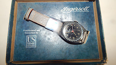 Vintage Ingersoll Watch Circa 20-30s In Box  Look