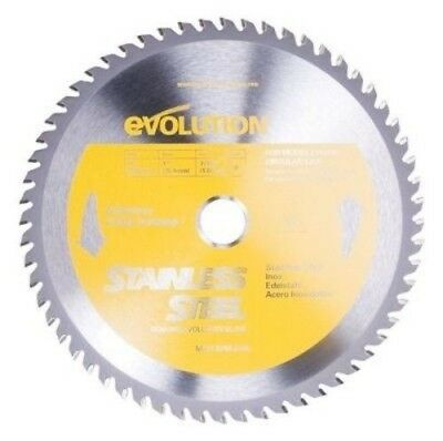 "Evolution Tct 10"" Stainless Steel-Cutting Saw Blade  10Bladessn"