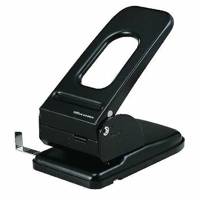 Office Depot Heavy Duty Metal 2 Hole Punch - Up to 65 Sheet Capacity
