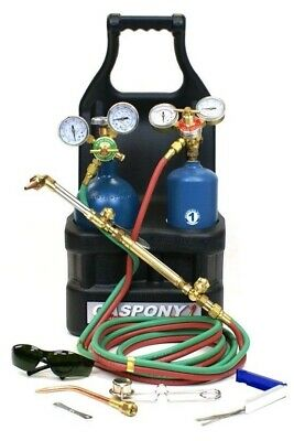 GasPony 1 Oxy-Acetylene Portable Tote Outfit with Cylinders GP1