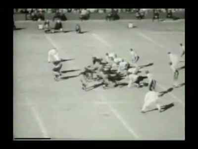 1940 NFL Championship Football Game DVD Bears vs Redskins GEORGE HALAS Free Ship