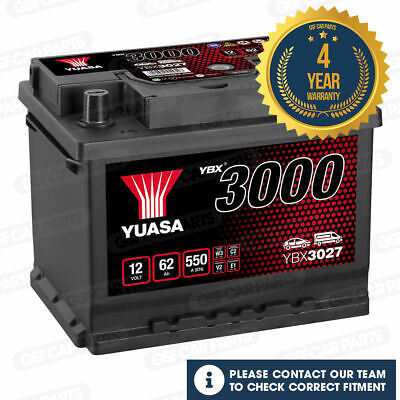 Peugeot 207 Sw Wk 2007-2016 Vetech Battery 45Ah Electrical System Replace Part