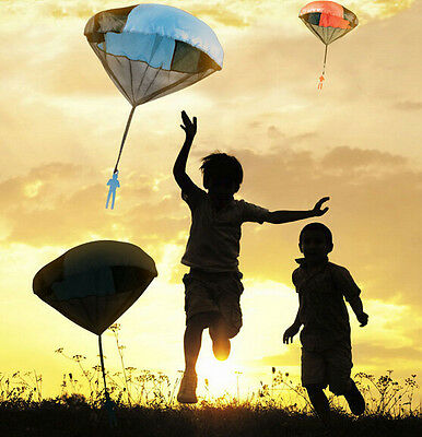 Mini Hand Parachute Children's Educational Toys Throwing Play Toy Kids Outdoor