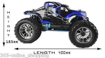 Bug Crusher 1/10 Nitro/Petrol Rc Car Remote Controlled Off Road Monster Truck