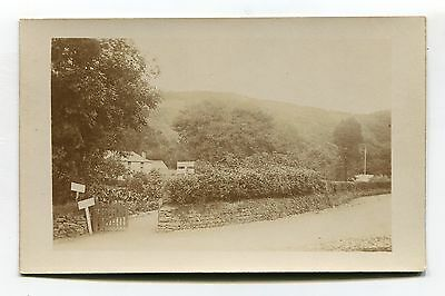 Unknown house & pleasure gardens - somewhere in England? - old postcard