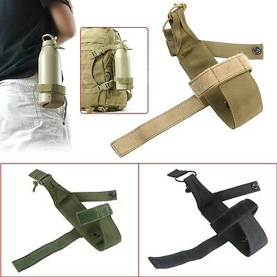 Outdoor Sport Tactical Water Bottle Carrier Holder Belt Pouch Waist Bag Pack New