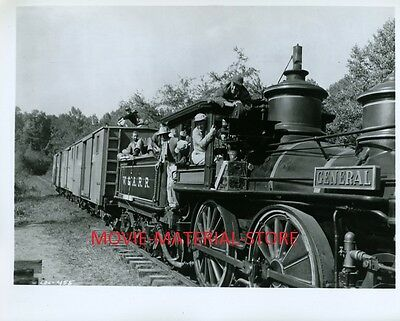 "Walt Disney The Great Locomotive Chase General 8x10"" Photo From Orig Neg L4556"