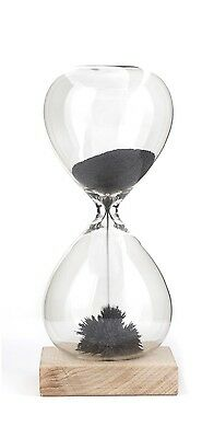 Kikkerland Magnetic Sand Hourglass 1 Minute Timer Kitchen Cooking Decor Gift