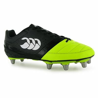 Canterbury Mens Phoenix Club Rugby Boots Shoes Screw In Studs Colour Contrasting