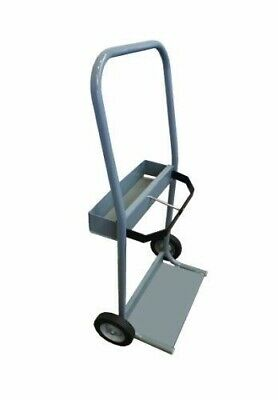 Gray Steel Cylinder Cart Size 3 - CRT3
