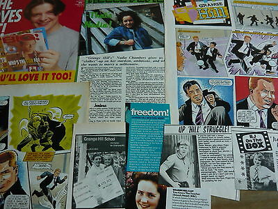 Grange Hill - Magazine Cuttings Collection (Ref Aa1)