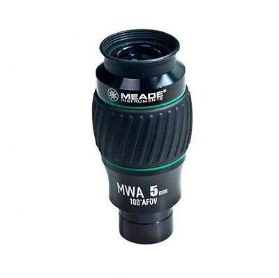 Meade 607015 Instruments Eyepiece, 100 Degree, MWA 5MM, 1.25-Inch (Black/Green)