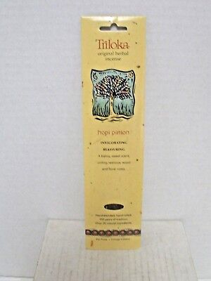 Triloka Original Herbal India Pinon Incense Sticks