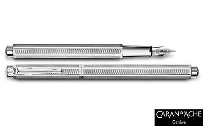 Caran d'Ache Palladium-coated Ecridor Retro Fountain Pen Medium 958.485